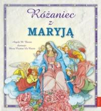 Różaniec z Maryją - okładka książki