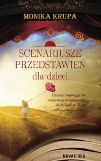 Scenariusze przedstawień dla dzieci - okładka książki