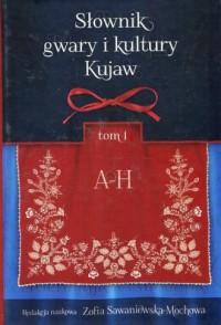 Słownik gwary i kultury Kujaw. Tom 1 A-H - okładka książki