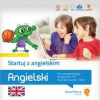 Startuj z angielskim. Kurs przygotowujący do egzaminu YLE dla dzieci w wieku 7-8 lat - okładka podręcznika