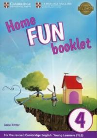 Storyfun Level 4 Home Fun Booklet - okładka podręcznika