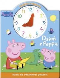Świnka Peppa. Książka z zegarem - okładka książki