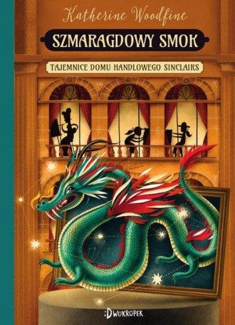 Szmaragdowy smok - okładka książki