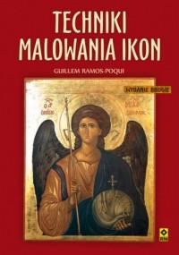 Techniki malowania ikon - okładka książki