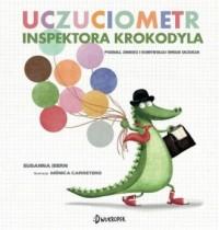 Uczuciometr inspektora Krokodyla - okładka książki