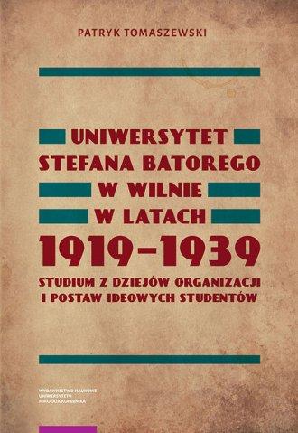 Uniwersytet Stefana Batorego w - okładka książki