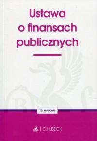 Ustawa o finansach publicznych - okładka książki
