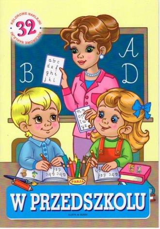 W przedszkolu - okładka książki