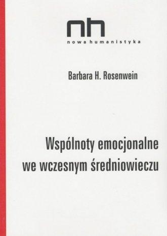 Wspólnoty emocjonalne we wczesnym - okładka książki