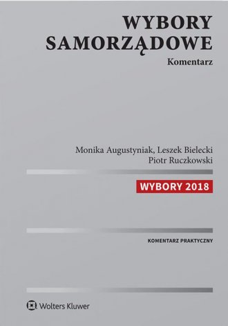 Wybory samorządowe. Komentarz - okładka książki
