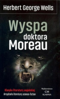 Wyspa doktora Moreau - okładka książki