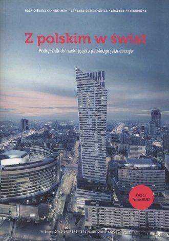 Z polskim w świat. Podręcznik do - okładka podręcznika