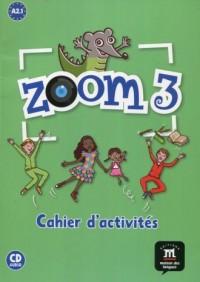 Zoom 3 Ćwiczenia + CD. A2.1 - okładka podręcznika