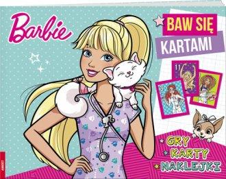 Barbie. Baw się kartami - okładka książki