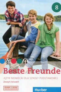 Beste Freunde. Język niemiecki 8. Zeszyt ćwiczeń - okładka podręcznika