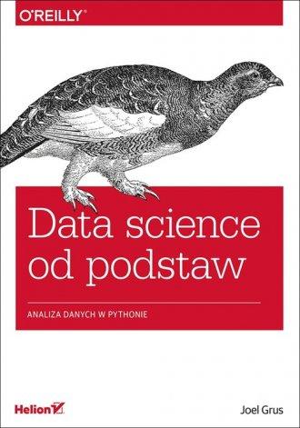 Data science od podstaw. Analiza - okładka książki