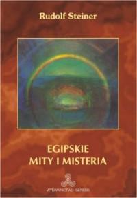 Egipskie mity i misteria - okładka książki