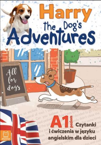 Harry the dogs adventures. Czytanki - okładka książki