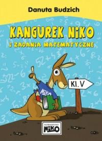 Kangurek NIKO i zadania matematyczne dla klasy 5 - okładka podręcznika