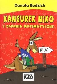 Kangurek NIKO i zadania matematyczne dla klasy 6 - okładka podręcznika