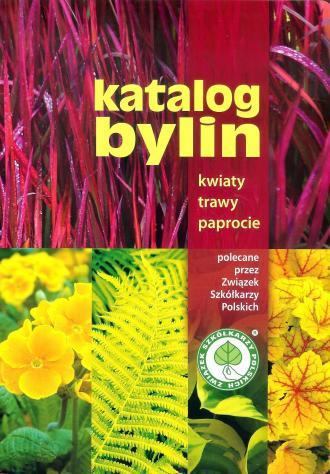 Katalog bylin. Kwiaty, trawy, paprocie - okładka książki