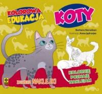 Kolorowa edukacja. Koty - okładka książki