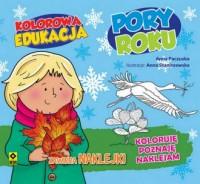 Kolorowa edukacja. Poru roku - okładka książki