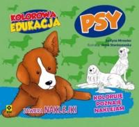 Kolorowa edukacja. Psy - okładka książki
