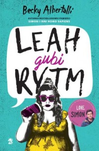 Leah gubi rytm - okładka książki