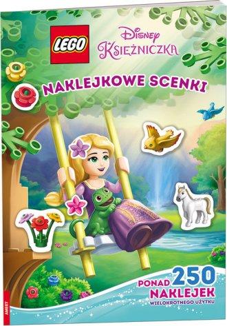 LEGO Disney Księżniczka. Naklejkowe - okładka książki