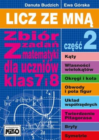 Licz ze mną. Zbiór zadań z matematyki - okładka podręcznika