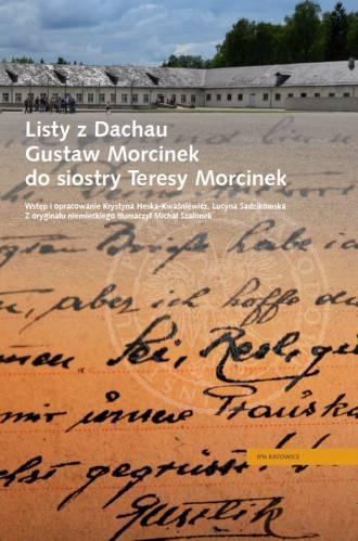 Listy z Dachau. Gustaw Morcinek - okładka książki