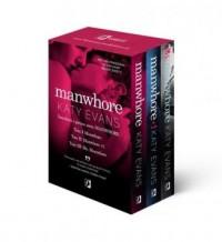 Manwhore / Manwhore + 1 / Ms. Manwhore. PAKIET - okładka książki
