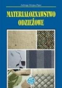Materiałoznawstwo odzieżowe - okładka podręcznika