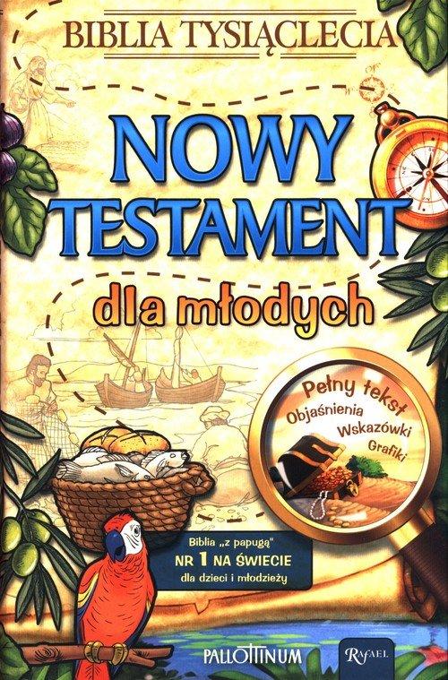 Nowy Testament dla młodych - okładka książki