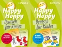 Pakiet Happy Hoppy Deutsch fur Kinder fiszki dla dzieci - okładka podręcznika
