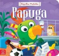 Papuga - okładka książki