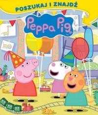 Peppa Pig. Poszukaj i znajdź - okładka książki