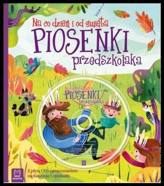 Piosenki przedszkolaka na co dzień - okładka książki