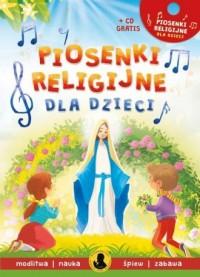 Piosenki religijne dla dzieci - okładka książki