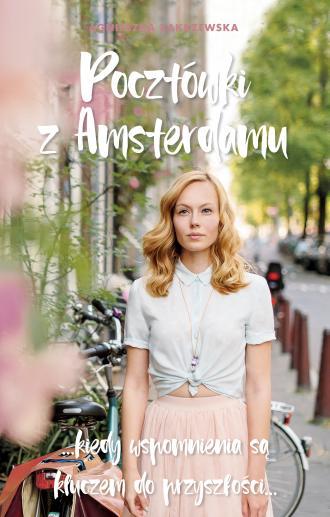 Pocztówki z Amsterdamu - okładka książki