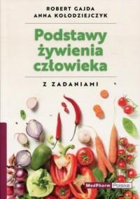 Podstawy żywienia człowieka z zadaniami - okładka książki