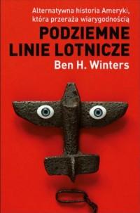 Podziemne linie lotnicze - okładka książki
