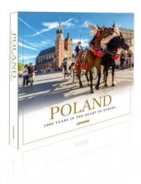 Polska 1000 lat w sercu Europy album mini. Poland. 1000 years in the heart of Europe - okładka książki