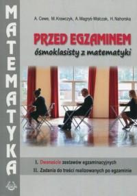 Przed egzaminem ósmoklasisty z matematyki - okładka podręcznika