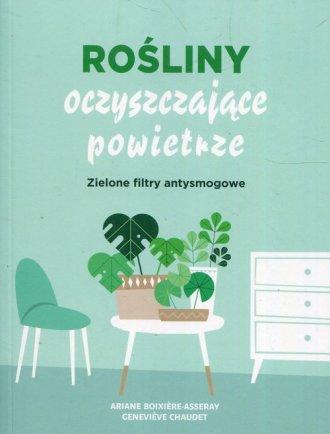 Rośliny oczyszczające powietrze. - okładka książki