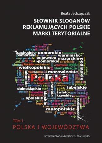 Słownik sloganów reklamujących - okładka książki