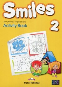 Smiles 2. Activity Book - okładka podręcznika
