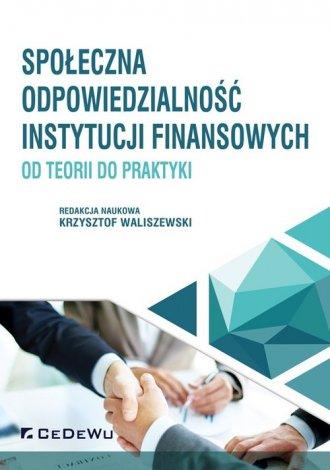 Społeczna odpowiedzialność instytucji - okładka książki