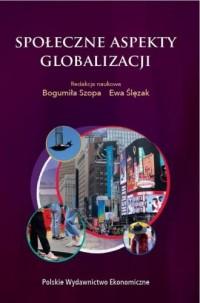 Społeczne aspekty globalizacji - okładka książki
